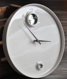 Relógio Redondo de Tambor Decorativo