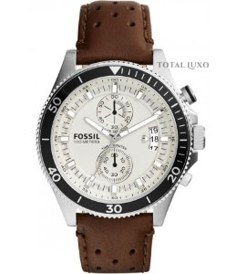 Relógio Fóssil Cronógrafo Masculino CH2943