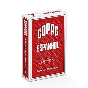 Baralho Copag Espanhol Vermelho