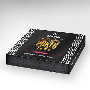 Baralho de Poker Copag WSOP Estojo Duplo Edição Especial
