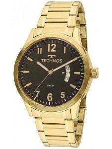 Relógio Technos Classic Steel Analógico Masculino 2115KTP/4P