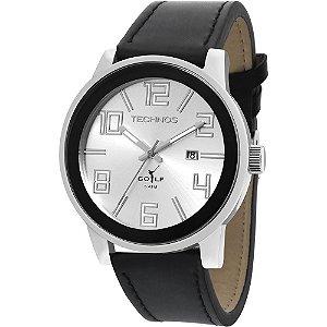 Relógio Technos Classic Golf Analógico Masculino 2115KQX/3K