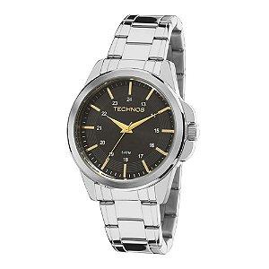 Relógio Technos Classic Steel Analógico Masculino 2035MDF/1P