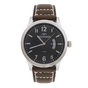 Relógio Technos Classic Steel Analógico Masculino 2115KTO/0P