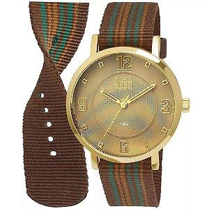 Relógio Dumont Berlim Analógico Unissex DU2036MFD/2B
