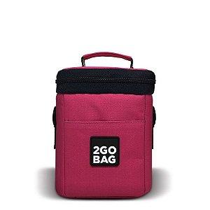 Bolsa Térmica 2goBag 4All Fun MINI Até 3 Refeições | Pink