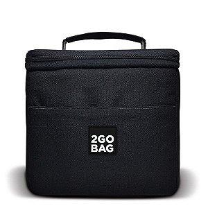 Bolsa Térmica 2goBag 4All Fun MID 4 a 8 Refeições | Black