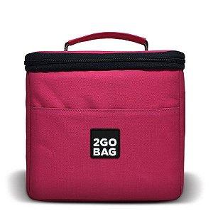 Bolsa Térmica 2goBag 4All Fun MID 4 a 8 Refeições | Pink