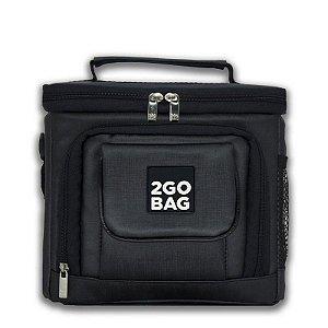 Bolsa Térmica 2goBag Sport MID 4 a 8 Refeições e Acessórios | Chumbo
