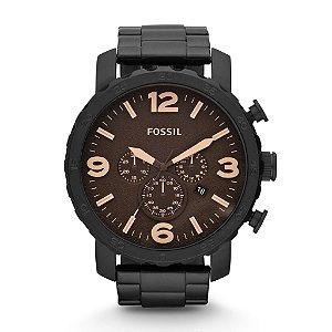 Relógio Fóssil Cronógrafo Masculino Nate JR1356