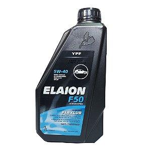 Oleo De Motor 5w40 Elaion F50 Api Sn A3/B4 Sintético 1Lt