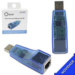 Adaptador USB para Rede Ethernet RJ45 10/100 Lotus LT-227
