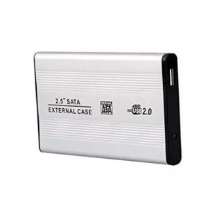 "Case para HD 2.5"" SATA USB 2.0 Prata - ET-H2501"