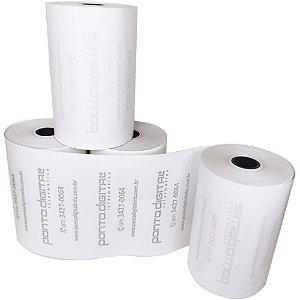 Bobina Térmica Branca 80mmx40m Ponto Digital - Caixa com 30 Unidades