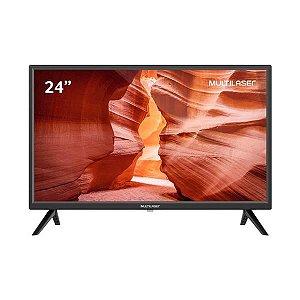"""Monitor TV 24"""" HD Multilaser  com Conversor Digital - TL037"""