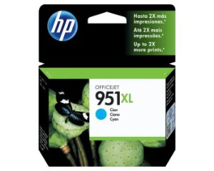 CARTUCHO HP 951XL 17ML CIANO CN046AB