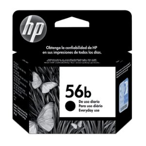CARTUCHO HP C6656BB PRETO (56B) 19 ML