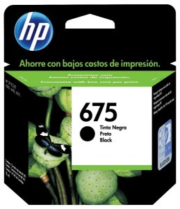 CARTUCHO HP CN690AL PRETO (675)