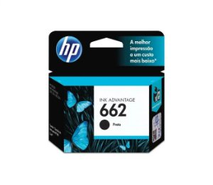 CARTUCHO HP CZ103AB PRETO (662) 2ML