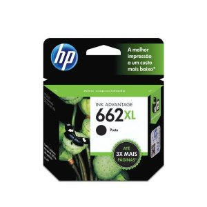 CARTUCHO HP CZ105AB PRETO (662XL) 6.5ML