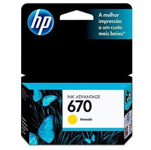 CARTUCHO HP CZ116AB AMARELO (670) 4ML