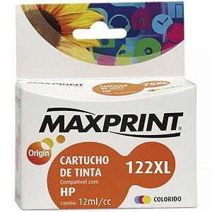 CARTUCHO MAXPRINT PARA HP COLOR (122XL) 12ML