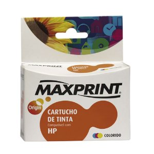 CARTUCHO MAXPRINT PARA HP COLOR (60XL) 12.5ML