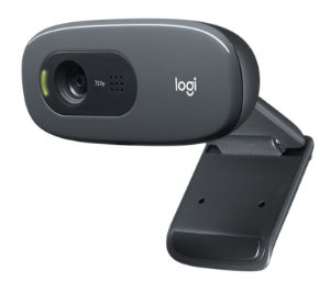 WEBCAM LOGITECH HD 720P 3MP COM MICROFONE C270