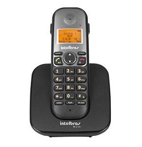 TELEFONE SEM FIO INTELBRAS TS5120 PRETO COM VIVA VOZ