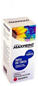 REFIL DE TINTA MAXPRINT PARA EPSON MAGENTA - T673320 100ML