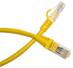 PATCH CORD 2.5M CAT5 CABLIX AMARELO