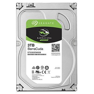 HDD DRIVE 3TB SATA SEAGATE BARRACUDA 64MB 7200RPM ST3000DM008