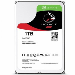 "HDD DRIVE SEAGATE NAS IRONWOLF 1TB SATA 3.5"" ST1000VN002"