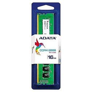 MEMORIA ADATA 16GB DDR4 2666MHZ - AD4U266316G19-S