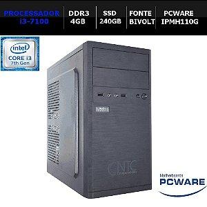 COMPUTADOR NTC PRICE 4140 PW7G I3-7100/ 4GB / SSD240