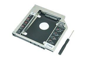 ADAPTADOR DVD PARA HD OU SSD NOTEBOOK DRIVE CADDY 12.7MM AC049