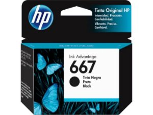 CARTUCHO HP 3YM79AL PRETO (667) 2ML