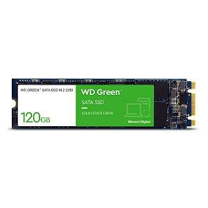 SSD 120GB M2 WESTERN DIGITAL WDS120G2G0B