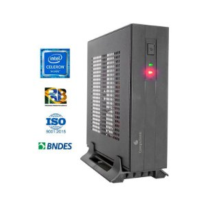 COMPUTADOR COMPUSONIC MINI J4005 CELERON 4GB DDR4 SSD 128GB
