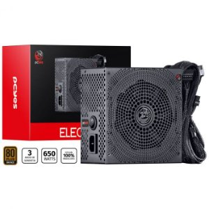 FONTE PCYES ELECTRO V2 650W SEM CABO 80 PLUS BRONZE