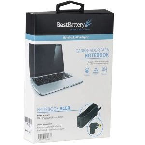 FONTE PARA NOTEBOOK BESTBATTERY ACER 19V 4.74A PINO 5.5*1.7MM