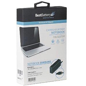 FONTE PARA NOTEBOOK BESTBATTERY SAMSUNG 19V 3.16A 5.5*3.0MM