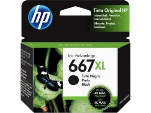 CARTUCHO HP 3YM81AL PRETO (667XL) 8,5ML