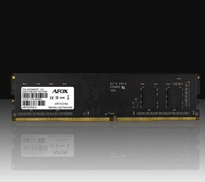 MEMÓRIA DESKTOP AFOX 4GB DDR4 2400MHZ AFLD44EK1P