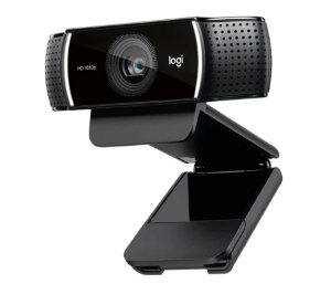 WEBCAM LOGITECH FULL HD 1080P C922 COM TRIPÉ