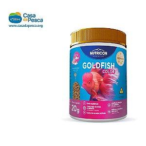 RAÇÃO NUTRICON GOLDFISH COLOR C/ ALHO 20 G