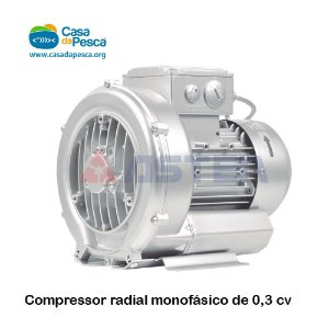 COMPRESSOR ASTEN RADIAL MONOFÁSICO 0,3 CV