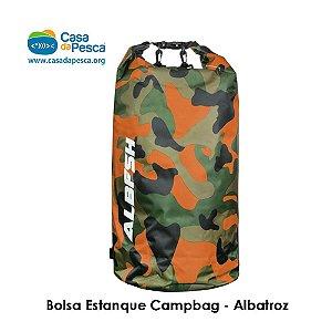 BOLSA ESTANQUE CAMPBAG - LARANJA CAMUFLADO - 20 L - ALBATROZ
