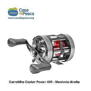 CARRETILHA CASTER POWER 400 - MANIVELA DIREITA