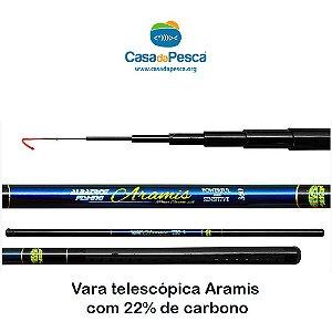 VARA ARAMIS DA ALBATROZ - 22% DE CARBONO - 3,6 METROS